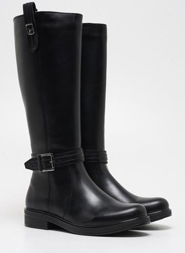F By Fabrika Kadın Siyah Çizme AGORA Siyah